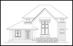 BrooksMill Lot 6 Shingle Style 2 Story Master on Main