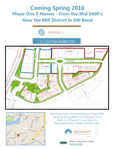 BrooksMill Bend Oregon Real Estate Site plan