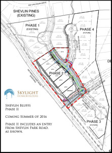 Map for marketing Shevlin Phase II