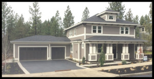 Bend Oregon West Side HomesShevlin-Bluffs-Lot-1