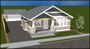 BrooksMill Lot 2 Single Level Bungalow