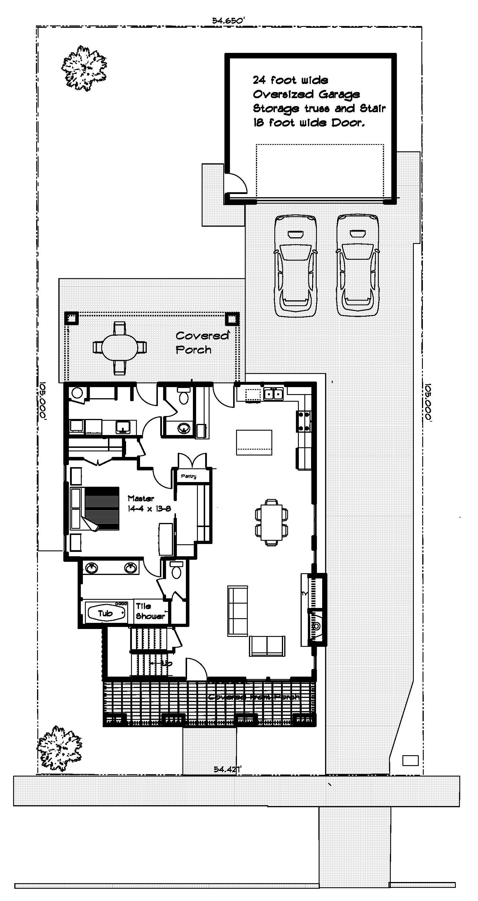 Lot 7 BrooksMill main floor 4.15.2017