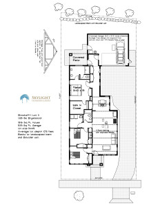 BrooksMill lot 3 site floor plan 8.12.2016
