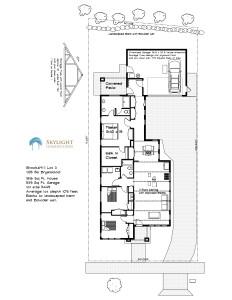 BrooksMill lot 3 site floor plan 8.12.2016