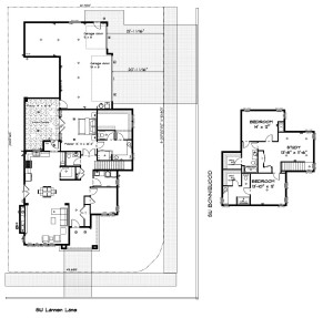 Marketing Site and floorplan for web lot 21 BrooksMill 2.8.2018