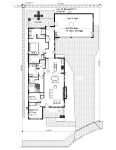 site plan lot 10 Brooks
